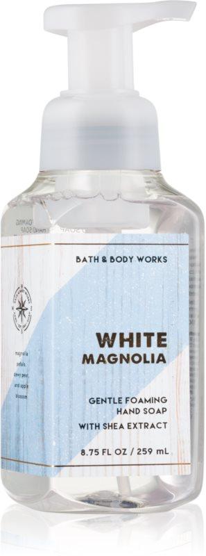 Bath & Body Works White Magnolia pěnové mýdlo na ruce