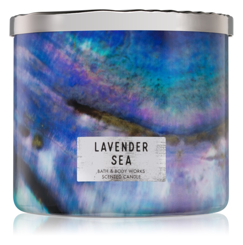 Bath & Body Works Lavender Sea vonná svíčka 411 g