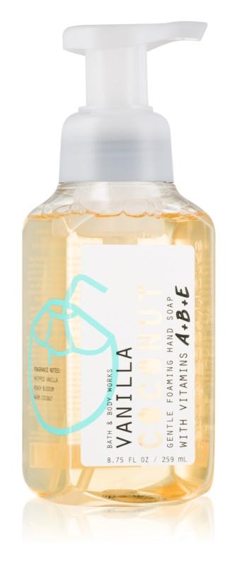 Bath & Body Works Vanilla Coconut flüssige Seife für die Hände
