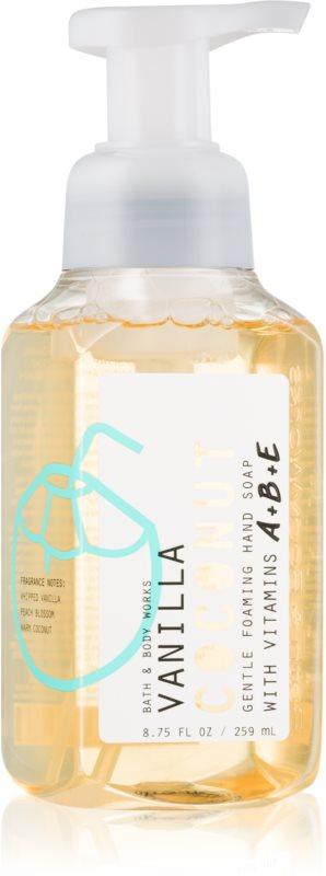 Bath & Body Works Vanilla Coconut Săpun lichid pentru mâini