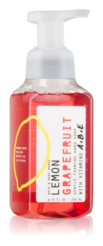 Bath & Body Works Lemon Grapefruit pěnové mýdlo na ruce