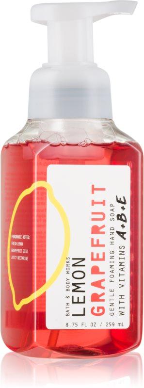 Bath & Body Works Lemon Grapefruit Sapun spuma pentru maini