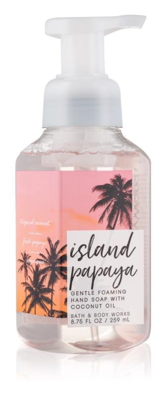 Bath & Body Works Island Papaya Sapun spuma pentru maini