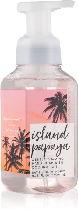 Bath & Body Works Island Papaya Schaumseife zur Handpflege