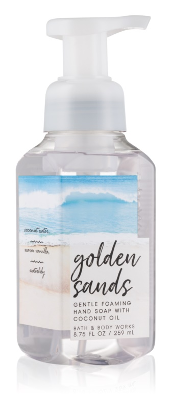 Bath & Body Works Golden Sands penové mydlo na ruky