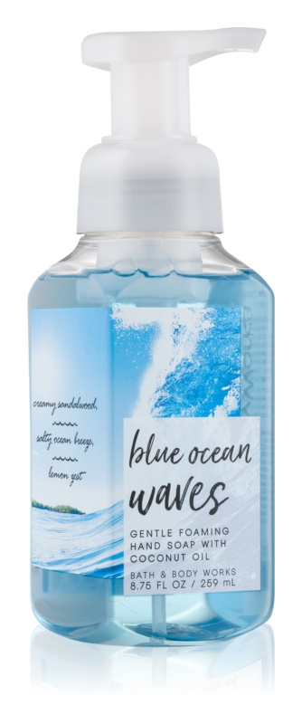 Bath & Body Works Blue Ocean Waves savon moussant pour les mains