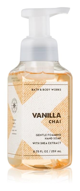Bath & Body Works Vanilla Chai hab szappan kézre