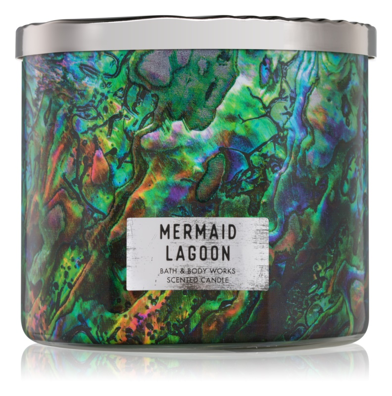 Bath & Body Works Mermaid Lagoon vonná svíčka 411 g