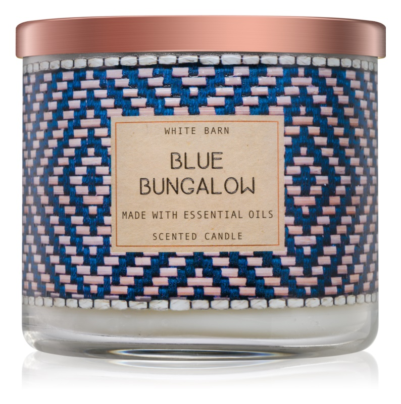 Bath & Body Works Blue Bungalow Duftkerze  411 g