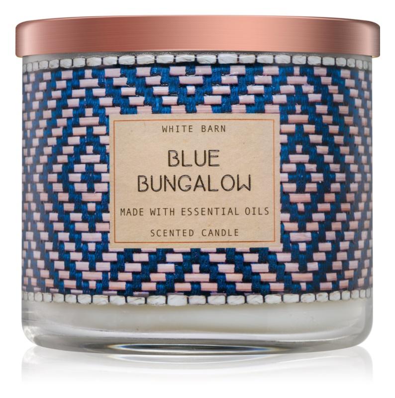Bath & Body Works Blue Bungalow vonná svíčka 411 g