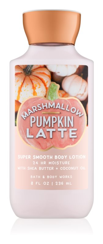 Bath & Body Works Marshmallow Pumpkin Latte leche corporal para mujer 236 ml