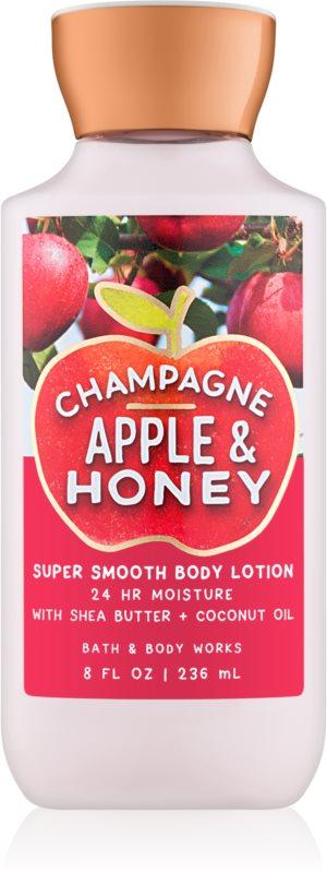 Bath & Body Works Champagne Apple & Honey telové mlieko pre ženy 236 ml