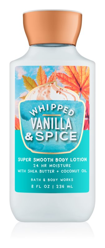 Bath & Body Works Whipped Vanilla & Spice lotion corps pour femme 236 ml