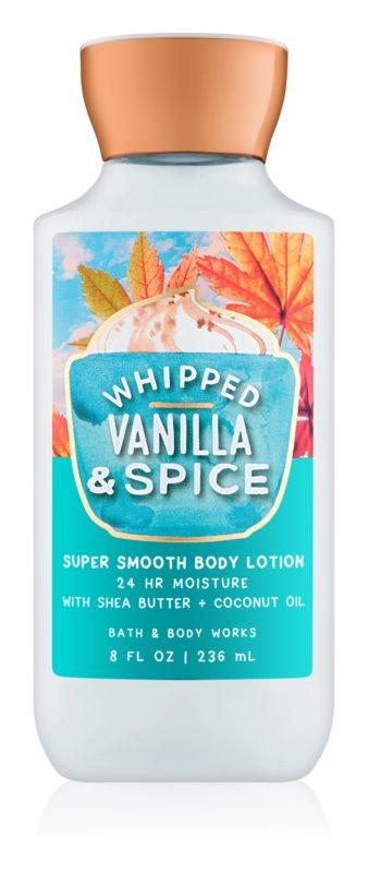 Bath & Body Works Whipped Vanilla & Spice testápoló tej nőknek 236 ml