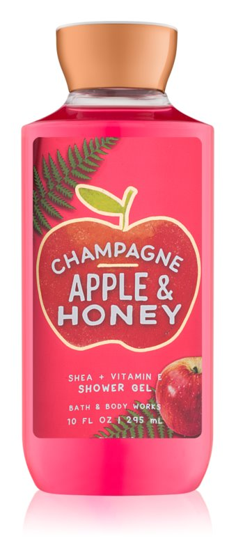 Bath & Body Works Champagne Apple & Honey sprchový gél pre ženy 295 ml