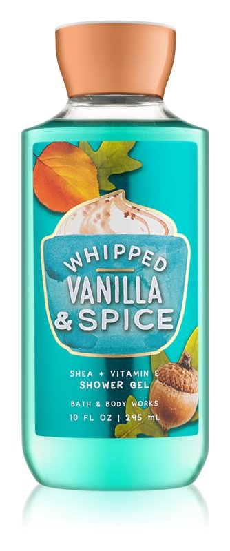 Bath & Body Works Whipped Vanilla & Spice Shower Gel for Women 295 ml
