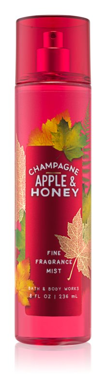 Bath & Body Works Champagne Apple & Honey spray corporel pour femme 236 ml