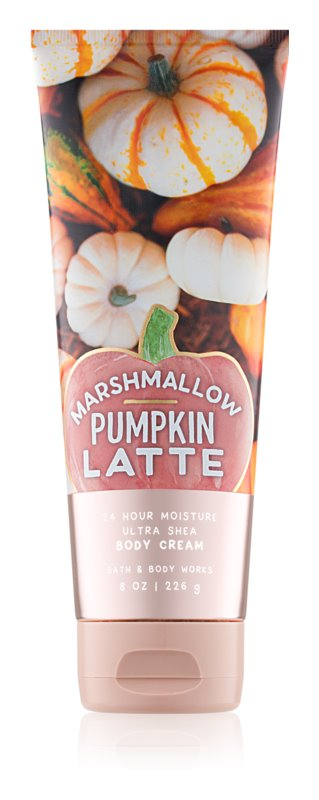Bath & Body Works Marshmallow Pumpkin Latte Bodycrème voor Vrouwen  226 gr