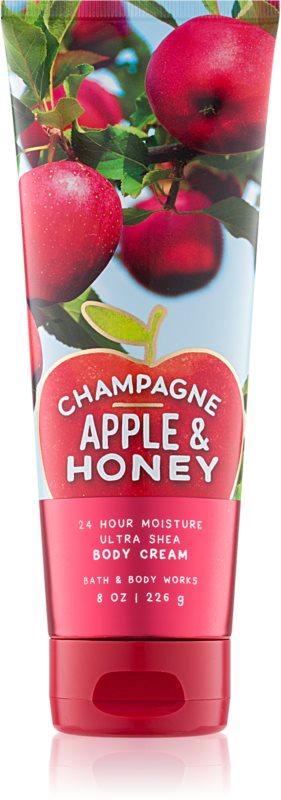 Bath & Body Works Champagne Apple & Honey Bodycrème voor Vrouwen  226 gr