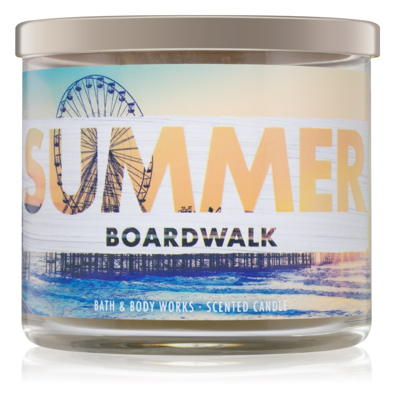 Bath & Body Works Summer Boardwalk bougie parfumée 411 g