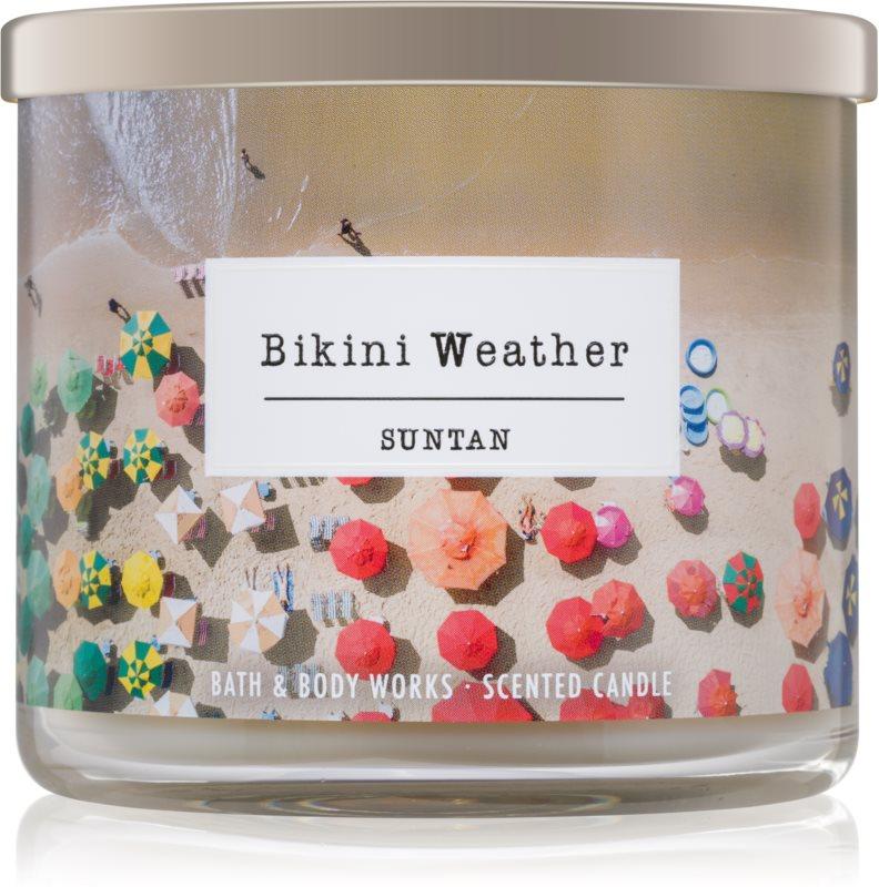 Bath & Body Works Suntan bougie parfumée 411 g  Bikini Weather