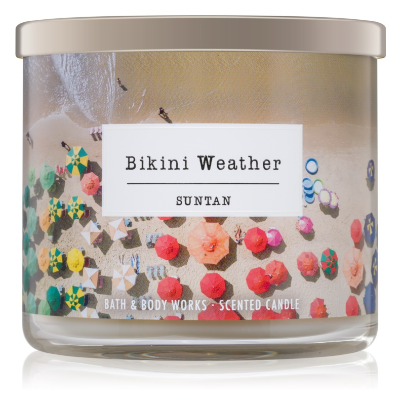 Bath & Body Works Suntan vonná sviečka 411 g  Bikini Weather