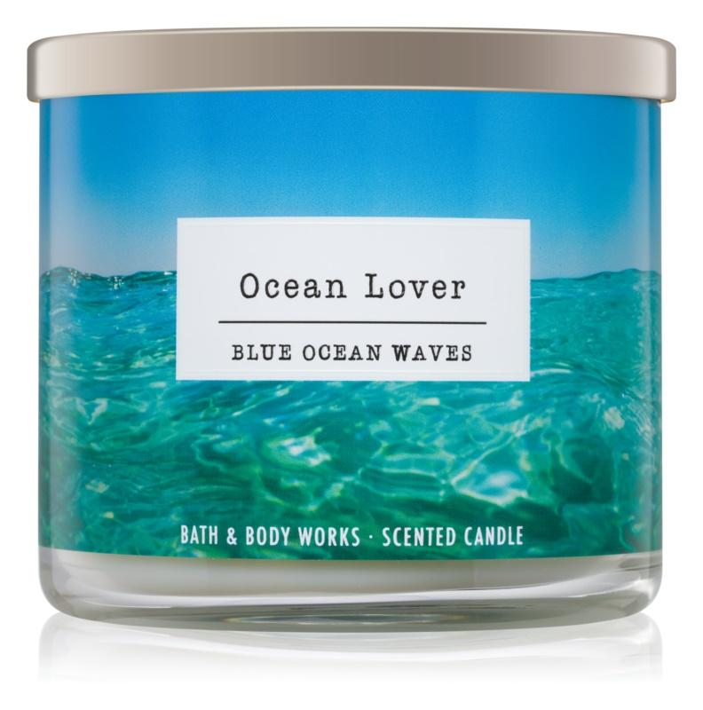 Bath & Body Works Blue Ocean Waves Duftkerze  411 g I. Ocean Lover
