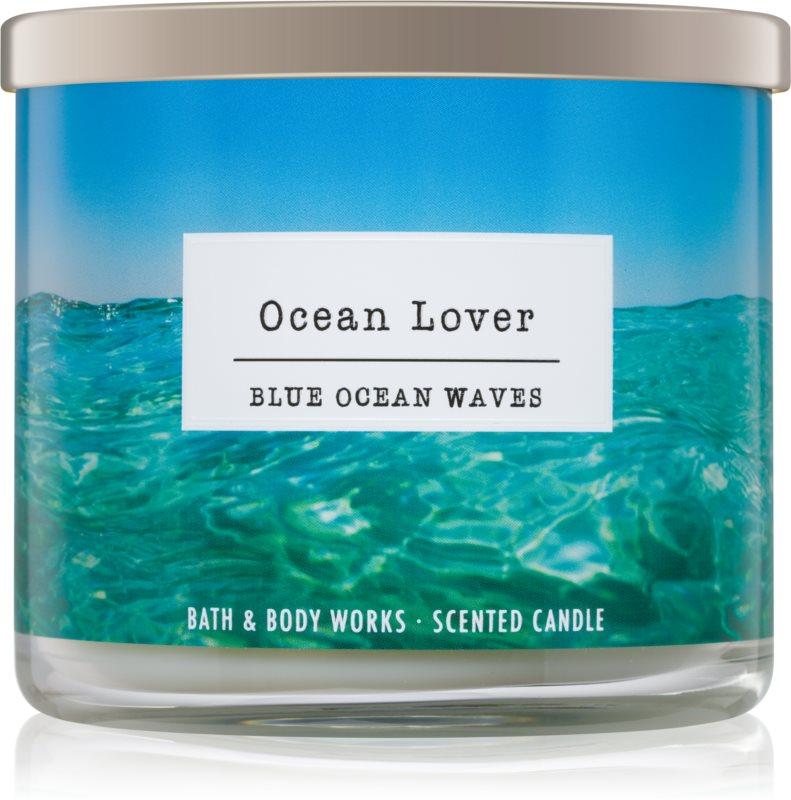 Bath & Body Works Blue Ocean Waves vonná svíčka 411 g I. Ocean Lover