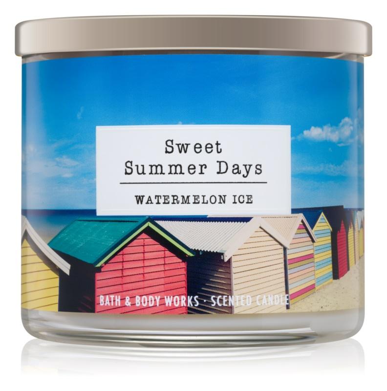 Bath & Body Works Watermelon Ice dišeča sveča  411 g  Sweet Summer Days