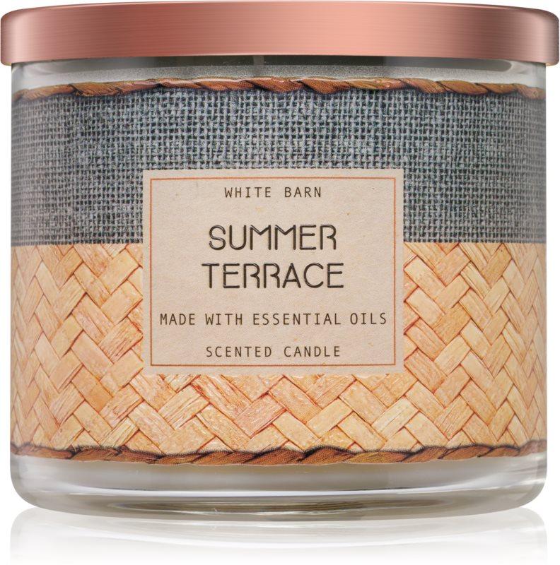 Bath & Body Works Summer Terrace ароматизована свічка  411 гр
