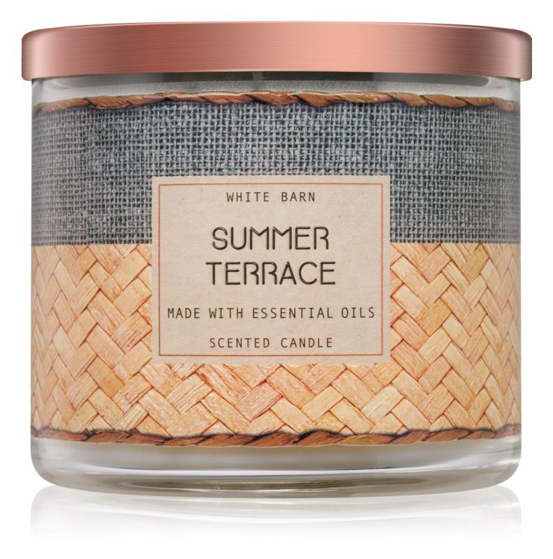 Bath & Body Works Summer Terrace bougie parfumée 411 g