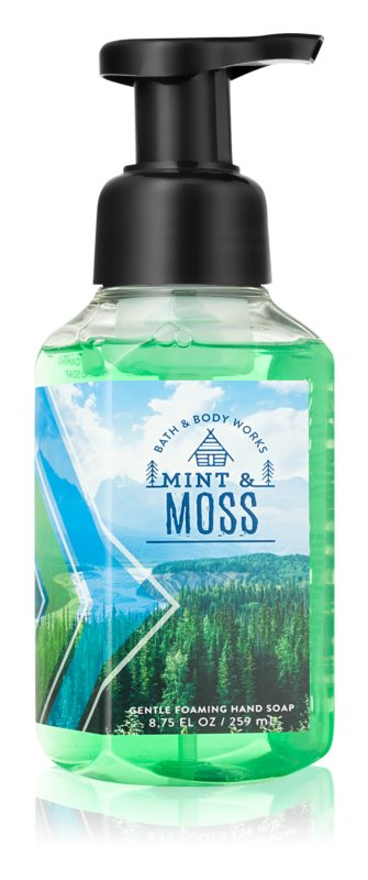 Bath & Body Works Mint & Moss mydło w piance do rąk