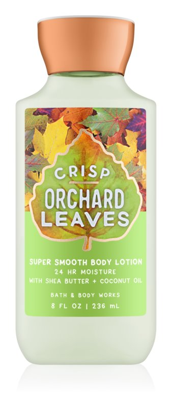 Bath & Body Works Crisp Orchard Leaves lotion corps pour femme 236 ml
