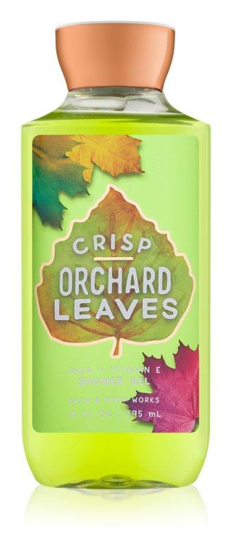 Bath & Body Works Crisp Orchard Leaves sprchový gél pre ženy 295 ml