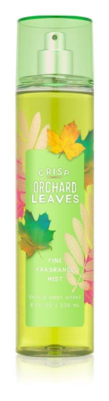 Bath & Body Works Crisp Orchard Leaves spray corporel pour femme 236 ml