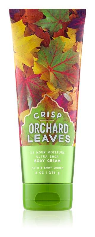 Bath & Body Works Crisp Orchard Leaves Bodycrème voor Vrouwen  226 gr