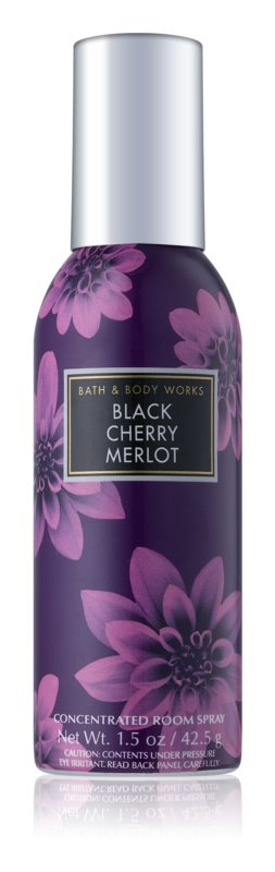 Bath & Body Works Black Cherry Merlot bytový sprej Vôňa do bytu 42,5 g I.