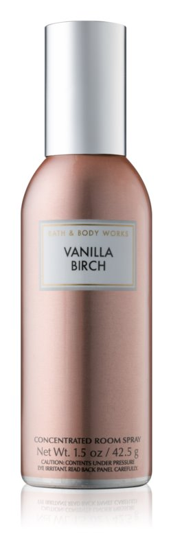 Bath & Body Works Vanilla Birch bytový sprej 42,5 g