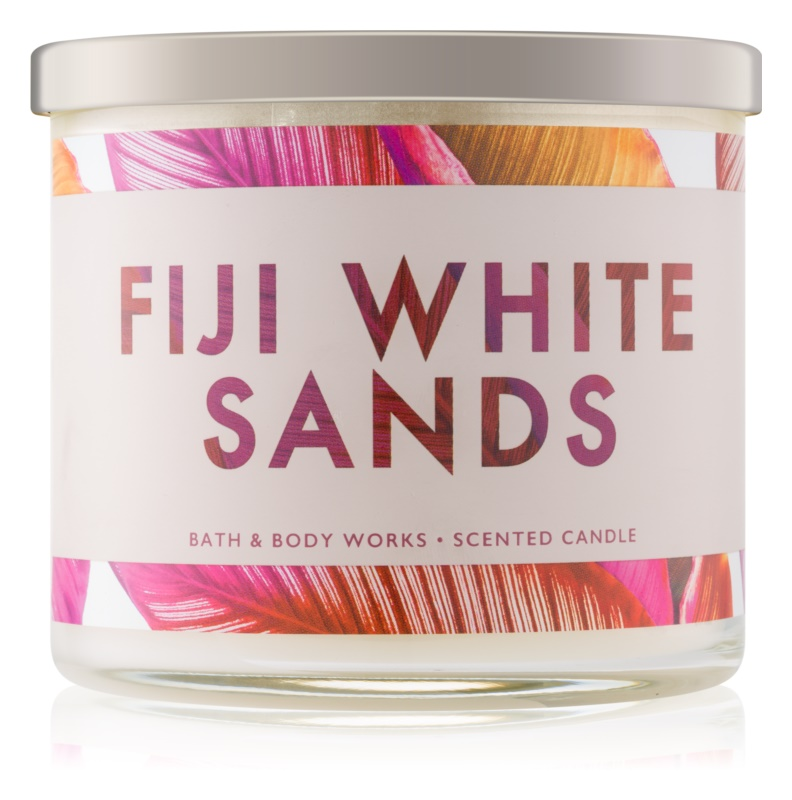 Bath & Body Works Fiji White Sands vonná sviečka 411 g