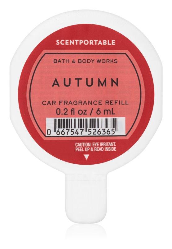 Bath & Body Works Autumn vůně do auta 6 ml náhradní náplň