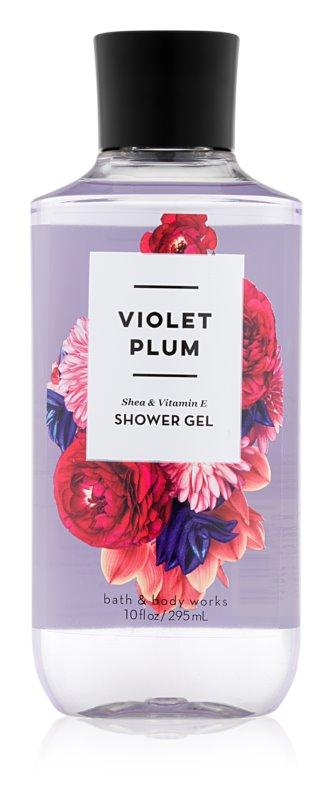 Bath & Body Works Violet Plum sprchový gel pro ženy 295 ml