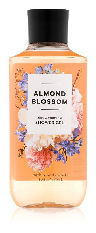 Bath & Body Works Almond Blossom sprchový gel pro ženy 295 ml