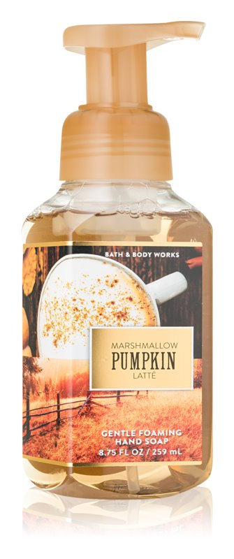 Bath & Body Works Marshmallow Pumpkin Latte Sapun spuma pentru maini