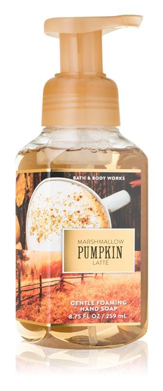 Bath & Body Works Marshmallow Pumpkin Latte Schaumseife zur Handpflege