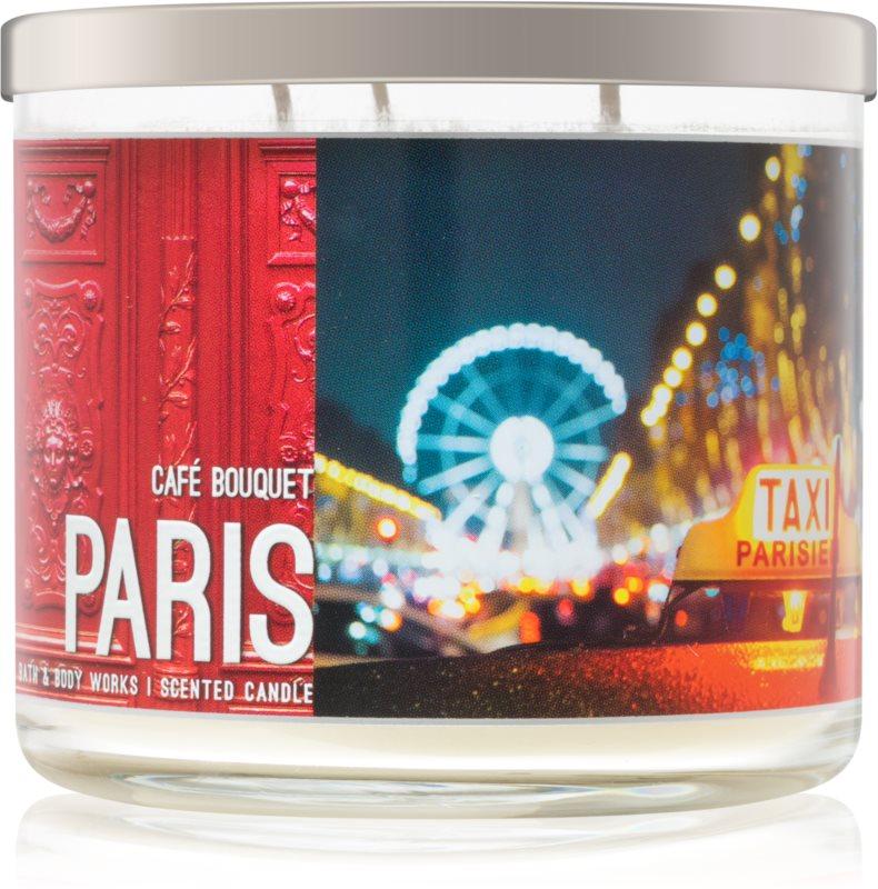 Bath & Body Works Café Bouquet vonná svíčka 411 g  Paris