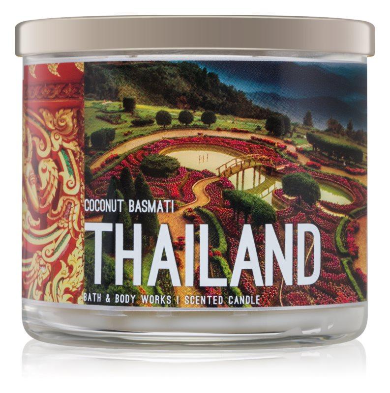Bath & Body Works Coconut Basmati vonná sviečka 411 g  Thailand