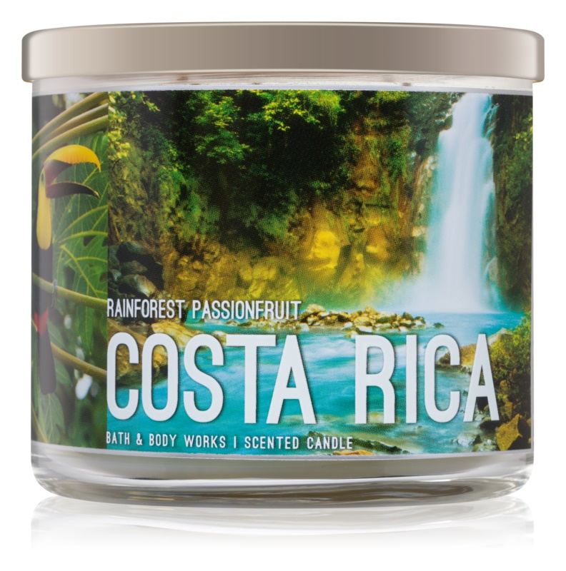 Bath & Body Works Rainforest Passionfruit Duftkerze  411 g  Costa Rica