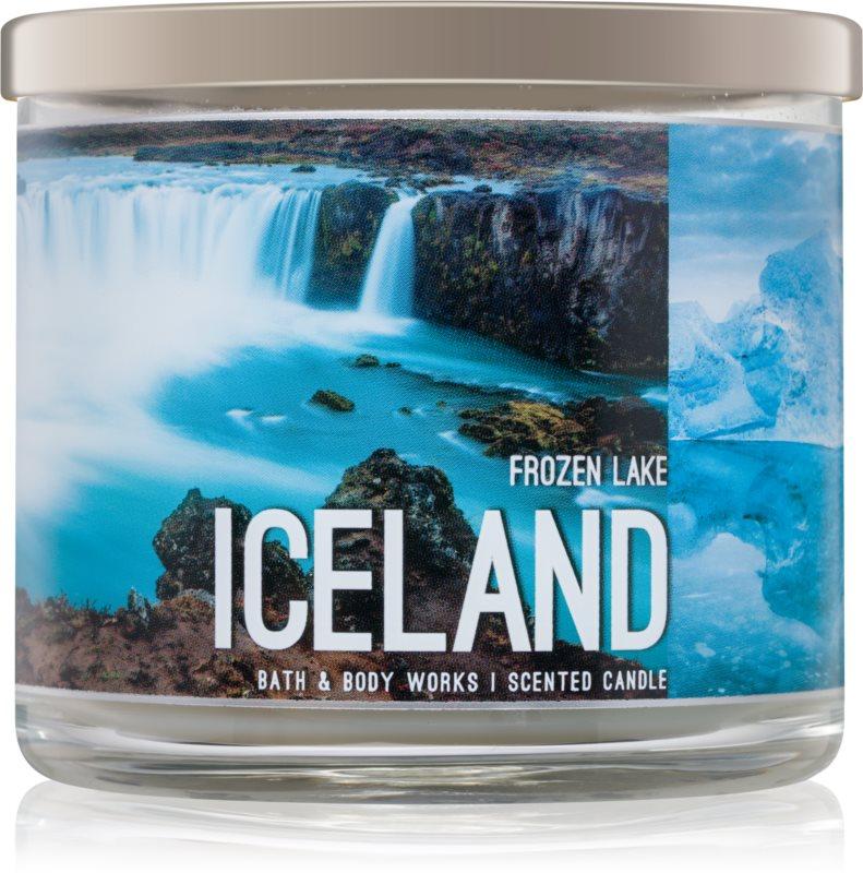 Bath & Body Works Frozen Lake ароматизована свічка  411 гр  Iceland