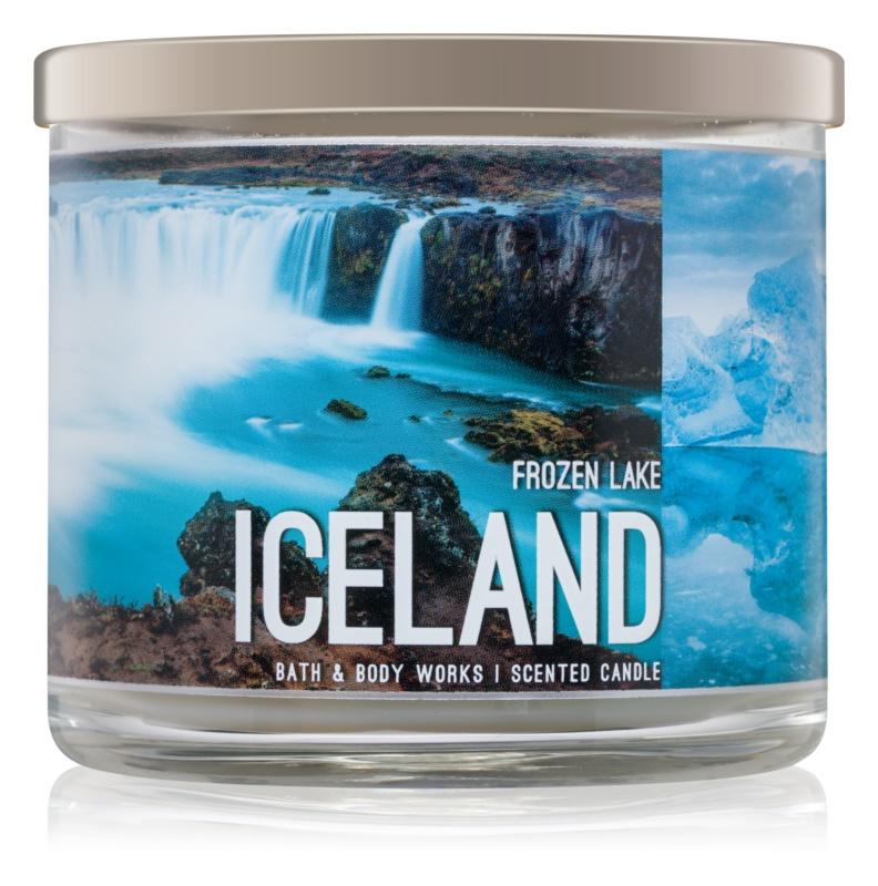 Bath & Body Works Frozen Lake vonná sviečka 411 g  Iceland