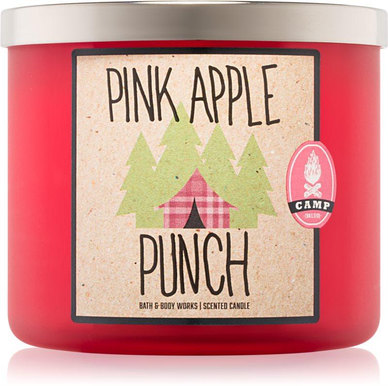 Bath & Body Works Pink Apple Punch vonná sviečka 411 g